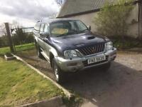 2002 Mitsubishi L200 ANIMAL pick up (jeep hilux land rover van)