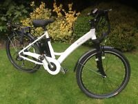 F4W RIDE ladies electric bike as new