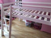 Secondhand wooden cabin bed frame