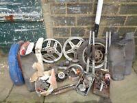 Vintage motorbike parts