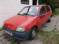 Renault Clio 1.1 litre 5 doors LHD