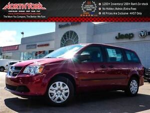2016 Dodge Grand Caravan NEW Car CVP|Bluetooth|SAT Radio|Dual Cl