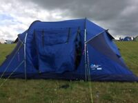 Lichfield Fistral 4 Tent - Sleeps 4 (As New - Used Once Only)