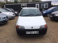 FIAT PUNTO 1.2 3DR WHITE VERY RARE ULTRA LOW MILEAGE ONLY 23k