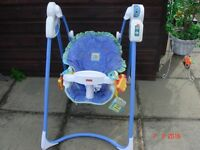 """Fisher Price """"Magical"""" Mobile Swing"""