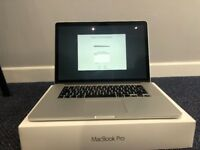 Macbook Pro 15 inch Mid 2015 model - perfect condition