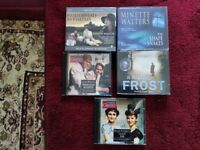 AUDIO BOOKS BY WAUGH, THACKERAY, WATERS & R.D WINGFIELD