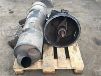 Daf Leyland ZF 5 Speed Gearbox and Exhaust Silencer 2009