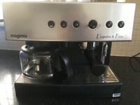 Magimix coffee machine - filter and espresso with milk frother