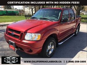2005 Ford Explorer Sport Trac ADRENALIN LEATHER SUNROOF - 4X4