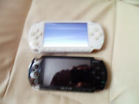 PSP CONSOLES x 2 Please read listing