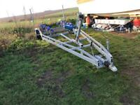 25 foot twin axle boat trailer with brakes 2009 BARGAIN