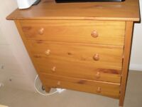 Bedroom drawer units (2 for sale)