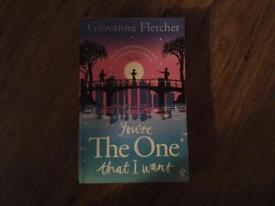 Book - You're The One that I want by Giovanna Fletcher used but like new free postage