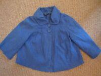**Atmosphere at Primark flared cropped summer jacket, Size 12**