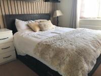 Ikea european queen size bed and mattress