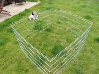 Large Fold up Metal Puppy Pen - fully adjustable size covers 4msq - £30