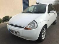 FORD KA 2006 1.3 ZETEC / 76000 MILES ONLY / LONG MOT / PETROL / MANUAL / EXCELLENT CAR / £895