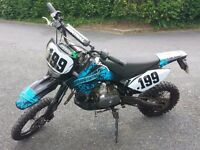 125 Stomp Road Legal Pit Bike 61 plate