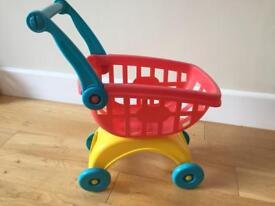 Kids shopping trolley