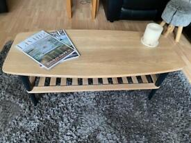 Lovely refinished solid wood coffee table