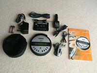 Silvercrest Personal Portable MP3/CD Player, anti-shock system, many accessories