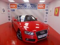 Audi A5 TFSI S LINE(FULL BLACK LEATHER)FREE MOT'S AS LONG AS YOU OWN THE CAR!!! (red) 2009