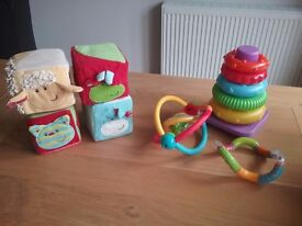Selection of baby toys (all in excellent condition)