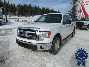 2013 Ford F-150 XLT Super Crew 4x4 - 54,483 KMs, 5.0L V8 Gas