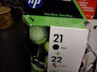 printer inks HP21&22