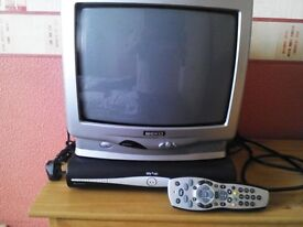 Sky hd + box and remote with free tv