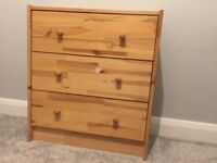 Small IKEA chest of drawers