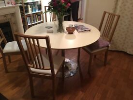 Italian Made Round Table 120cm wide