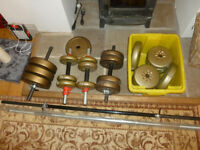 Assorted weights for sale