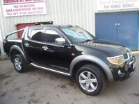 Mitsubishi L200 Warrior DI D-DC,4x4 Pickup,remapped for economy,digital tachometer for towing,towbar