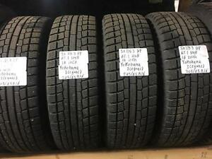 winter tires/rims (yokohama iceguard 205/65r16)