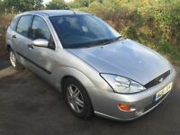 Ford Focus Diesel, 51 plate, With A/C, Electric Windows
