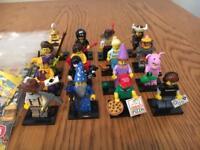 Lego minifigures series 12