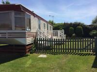 Caravan for rent at Hemsby near Great Yarmouth.