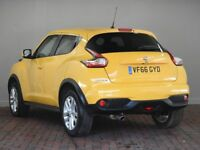 NISSAN JUKE 1.5 DCI N-CONNECTA 5DR (yellow) 2017