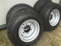 Agri trailer wheels for silage trailer farm trailer livestock trailer wheels
