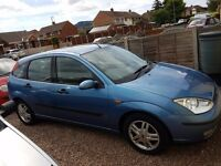FORD FOCUS FOR SALE 1.6