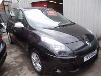 Renault SCENIC I-Music DCI,5 dr hatchback,nice clean tidy car,great family car,cheap tax,YP59NKJ