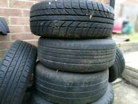 185/60 R14 wheels x5 with tyres