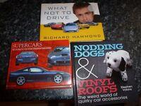 CAR BOOKS X3