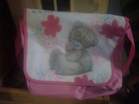Me to u bear bag with purse