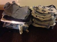 Baby boy 6-9 months baby grows and vests