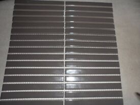 BRAND NEW GLOSSY GREY / ANTHRACITE tiles