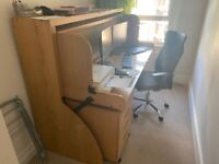 Sturdy Study Desk Bed for Sale