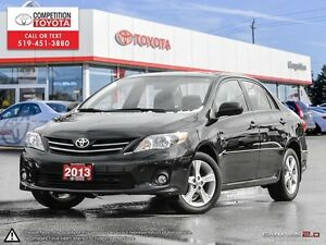 2013 Toyota Corolla LE One Owner, No Accidents, Toyota Serviced